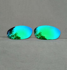 2 Pairs Green Replacement Lenses for-Oakley Monster Dog Polarized