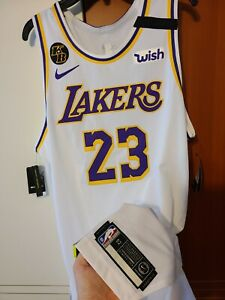 Lebron James 2019-20 Los Angeles Lakers NBA Finals Nike Authentic Jersey 52 + 2