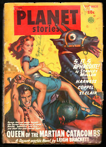 PLANET STORIES Summer 1949:Alfred Coppel,Margaret St.Clair,Leigh Brackett