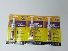 3X Super Glue Original LGB Pola Plastic Model 15263 Hobby Cement 1 Oz Tubes 3 pk