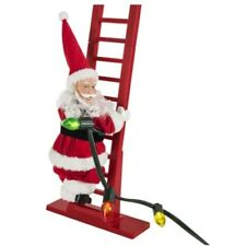 Christmas Electric Santa Claus Climbing Ladder Doll Xmas Decor Kid Gift 2020 Chr
