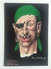 Carte postale les corsaires d'Etienne Blandin Pirates