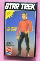 Scotty SEALED 1994 ERTL Star Trek Vinyl Figure - Chief Engineer Mr. Scott