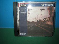 EISENBAHN JOURNAL ~ CD-ROM 2 / 2001 ONLY ~ GERMAN TEXT > VGC SEE PIC'S