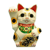 3D Paper Model, Animals Fortune Cat Papercraft Building Kit Lucky Cat Origami