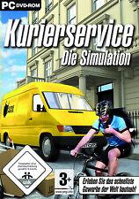 Kurierservice - Die Simulation Pakete ausliefern für Pc Neu/Ovp