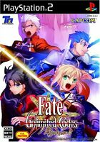 Used PS2 Fate/Unlimited Codes Japan Import (Free Shipping)