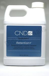CND Retention+ Sculpting Liquid 32oz/946mL Superior Adhesion No Primer Required