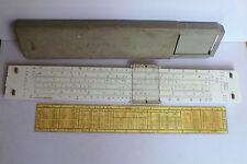 Aristo Studio Vintage Slide Rule Nr 0968 Germany with half case 1364 table.