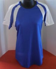 Nike Women's Court Warrior SS Volleyball Jersey Color Royal Blue / White Size M
