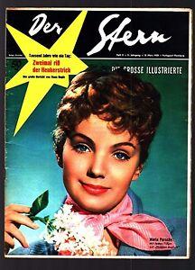 Der Stern Nr. 11 15.3.1958 Maria Perschy (Cover), Romy Schneider