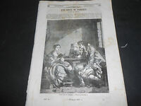 1847 GREUZE FILANTROPIA BARTOLOMEO RAVENNA CINQUE SENSI UDITO BERTALL