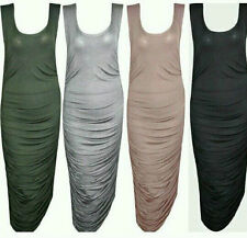 Viscose Scoop Neck Cocktail Dresses for Women