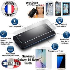 Protection d'Ecran Verre Trempé Bombé Incurvé pour Samsung Galaxy S6 Edge G925