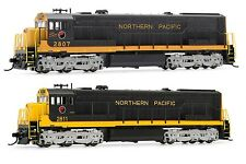 Arnold Northern Pacific GE U28C Diesel DCC Ready #2807/#2811 N Scale Locomotives