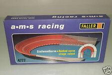 FALLER A.M.S RACING 4777 ripido muro curva OVP (eh2773)