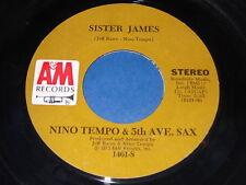 Nini Tempo & 5th Ave. Sax: Sister James / Clair De Lune 45
