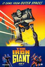 The Iron Giant Original Movie Poster Rare - Advance Style - Vin Diesel Aniston