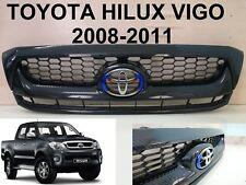 TOYOTA HILUX VIGO SR5 MK6 Front Grille Grill PARTS STYLE Kevla carbon 2008-11