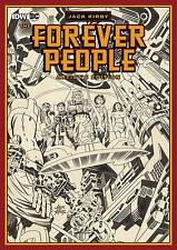 JACK KIRBY FOREVER PEOPLE VERY LARGE ARTIST EDITION IDW IN ORIGINAL SHIPPING BOX