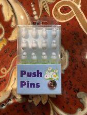 20 Decorative White Bunnies Thumbtacks Push Pins Cork Board Thumb Tacks Ryman Uk