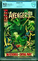 Avengers #45 CBCS NM- 9.2 Off White to White Marvel Comics Thor Captain America