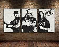 Not Framed Canvas Prints Home Decor Wall Art Pictures<NWO wrestling>3pc