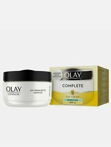 Olay Complete Sensitive Day Cream SPF15 - 50ml