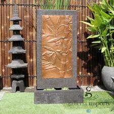Bamboo Copper Wall Fountain
