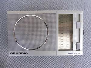 Grundig Music Boy 160 - tragbares Radio Kofferradio Weltempfänger silber - TOP!!