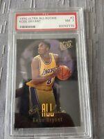 Kobe Bryant 1996-97 Fleer Ultra All-Rookie #3 Lakers GOAT PSA 7 🐐🔥