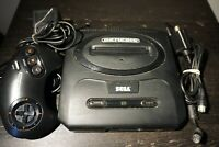 Vintage Sega Genesis Model 2 Console Controller 3 Button Tested