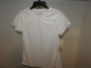 Women's New Balance Endurance White Tec Shirt New SMALL