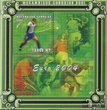 Mosambik block88 unmounted mint / never hinged 2001 Football-european championsh