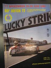 Officieel Programma Dutch TT-Speedweek Assen 1990