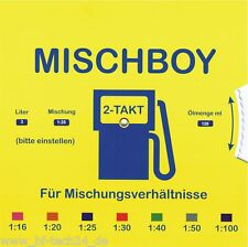 Mischboy f.Mofa, Moped, Mokick, Stihl, Heinkel, Zündapp, Hercules