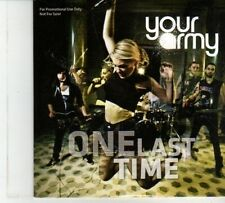 (DP225) One Last Time, Your Army - 2012 DJ CD