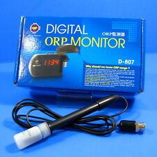 Digital ORP Monitor w / Probe Electrode Tester 100~240V for Fish Tank Aquarium