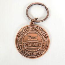 "METCALF CLUB VERDE Keychain Medallion Centennial ""Dance of the Elders"" 1914-2014"