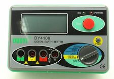 Brand NEW DY4100 Digital Earth Ground Resistance Tester Meter High-Performance