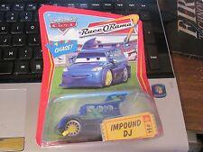 Disney's Pixar World of Cars Impound DJ Chase Car Mint on Card