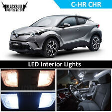 White LED Interior Light Accessory Kit for 2018 Toyota C-HR CHR XLE