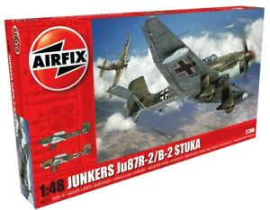 New Release Airfix 1:48th Scale Junkers Ju87R-2/B-2 Stuka Model.
