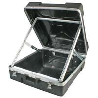 NEW 12RU PA Mixer Rack Flight Road Case Storage Cabinet.Portable Pro Audio.12.