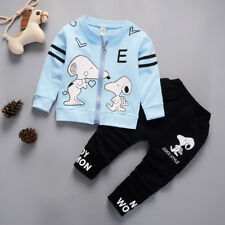DIIMUU Kids Boys Child Clothes Clothing Outfits Sets Coat + Pants Baby Boy Suits