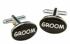 Groom Cufflinks Wedding Keepsake Gift present in Cufflink Box  NEW  3171