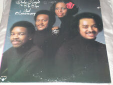 GLADYS KNIGHT - 2nd ANNIVERSARY - 1975 USA BUDDAH LABEL LP + LARGE POSTER