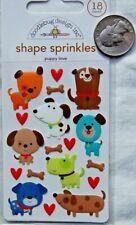 Doodlebug ~ SLAM DUNK ~ Shape Sprinkles ~ Basketball ~ Enamel Dots