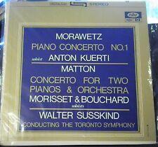 Morawetz/Matton/Kuerti/Morriset & Bouchard/Susskind    Concertos     Capitol