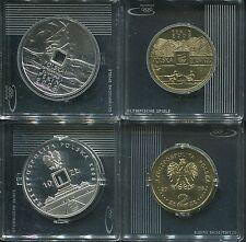 POLEN 2008 - 2 + 10 Zloty in Silber, PP/stgl.! OLYMPIA PEKING 2008